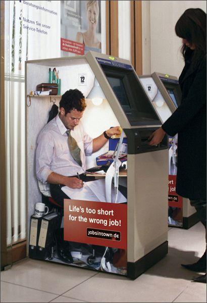 Så det er slik minibanken fungerer?
