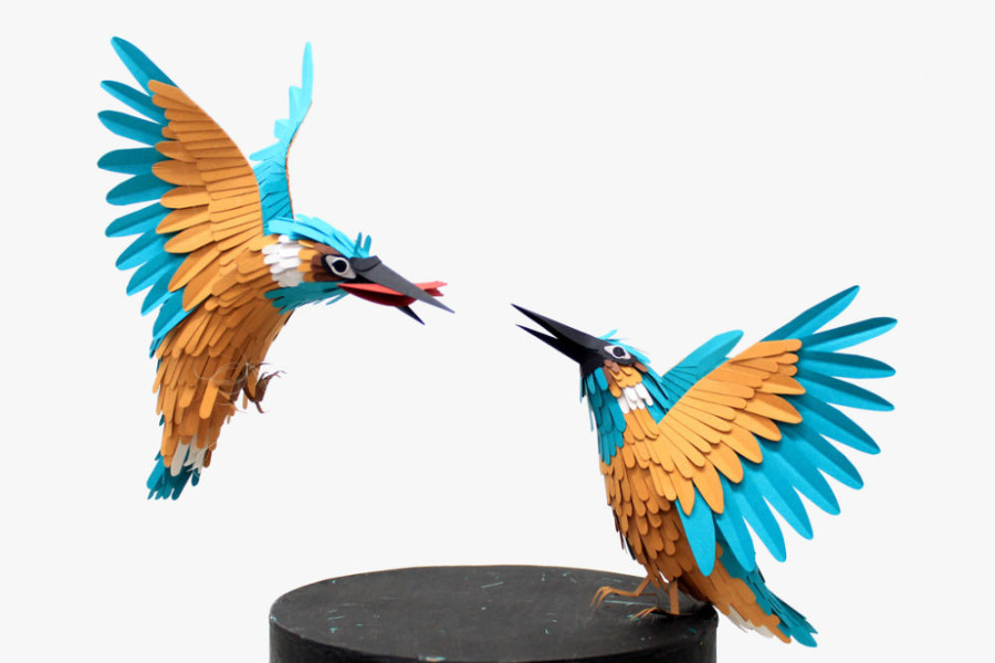 Paper-Birds-by-Diana-Beltran-Herrera-14-900x600