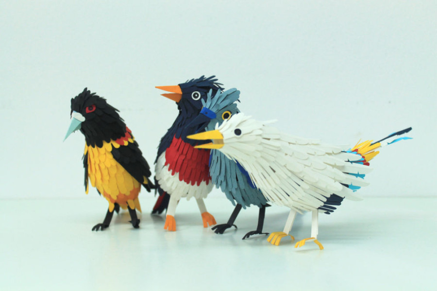 Paper-Birds-by-Diana-Beltran-Herrera-22-900x600