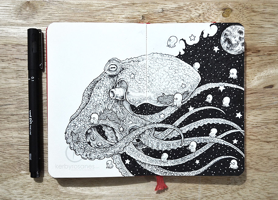 detailed-pen-drawings-kerby-rosanes-1